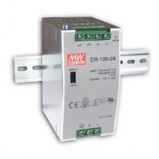 Meanwell Din Rail Power Supply 12V, 120W DC - DR12012