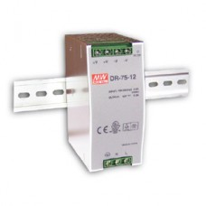 Meanwell Din Rail Power Supply 12V, 75W DC - DR7512