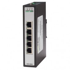 EthernetDirect Industrial 5 Port Slim Unmanaged Gigabit Ethernet Switch, Ext Temp - HUG-500SE