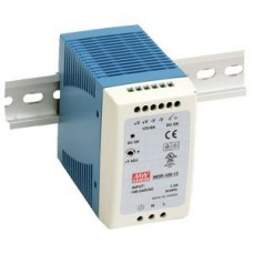 Meanwell Mini Din Rail Power Supply 48V, 100W DC - MDR10048