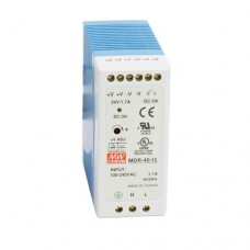 Meanwell Mini Din Rail Power Supply 24V, 40W DC - MDR4024