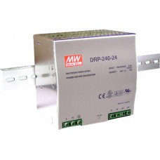 Din Rail Power Supply 24V, 240W DC - DRP24024