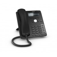 Snom 12 Line Professional IP Phone, Gbit port + 1x USB port. 4 context-sensitive function keys. Wideband audio - SNOM-D715-B